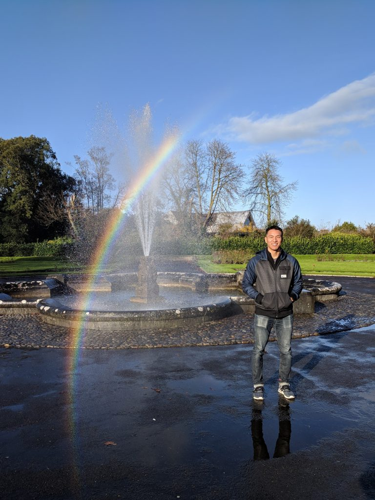 Fountain at Kilkenny Castle Park