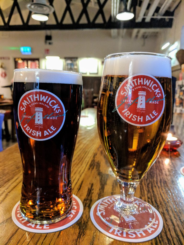 Smithwick's Red Ale and Pale Ale