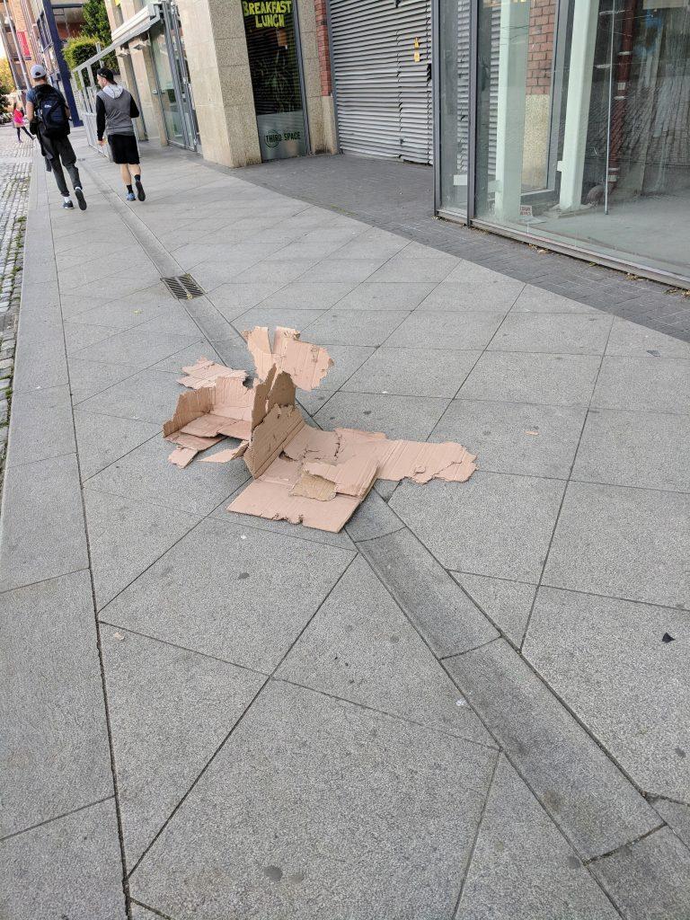 Litter in Dublin