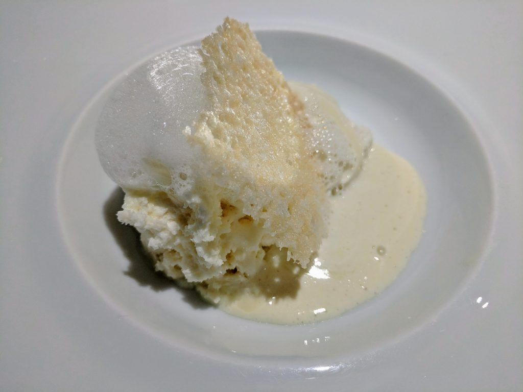 The famous Five Ages of Parmigiano Reggiano at Osteria Francescana