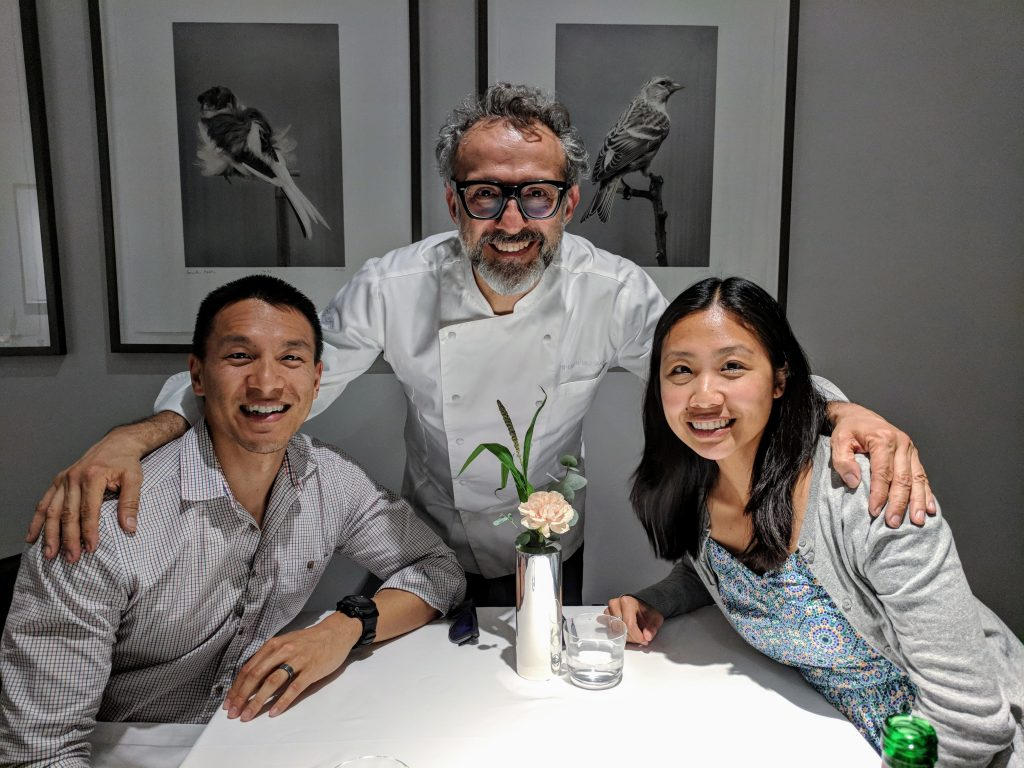 meeting Massimo Bottura at Osteria Francescana