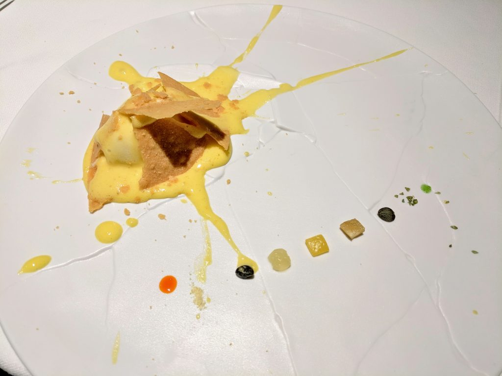 Oops! I dropped the lemon tart from Osteria Francescana