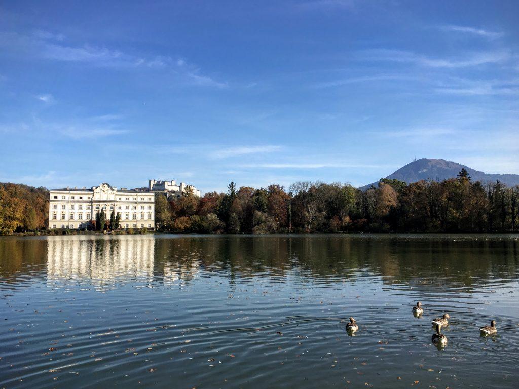 Schloss Leopoldskron in Salzburg, Austria