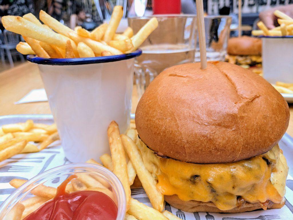Beefeater burger from Generator Dublin, Dublin, Ireland
