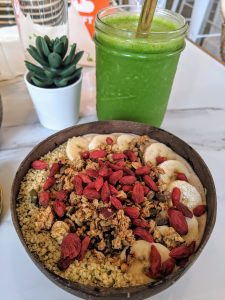 Protein Punch smoothie bowl from Kale + Coco, Dublin, Ireland